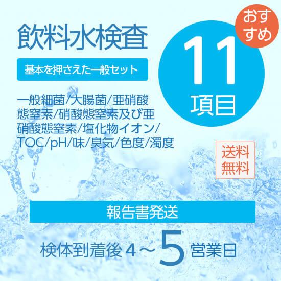 飲料水検査11項目セット