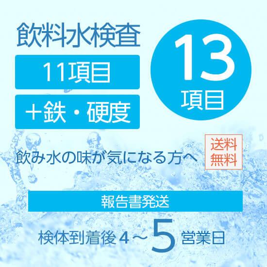 飲料水検査・水質検査13項目セット