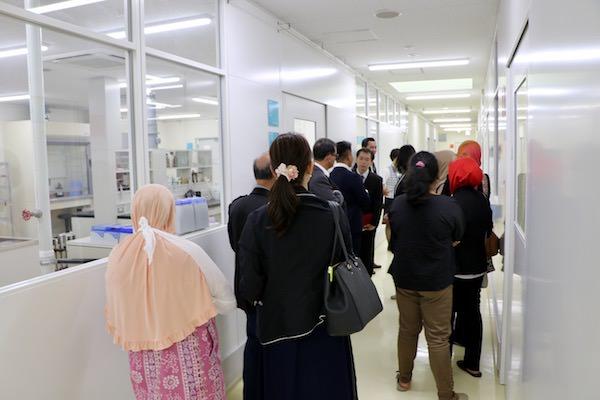 インドネシア視察団と技術連携