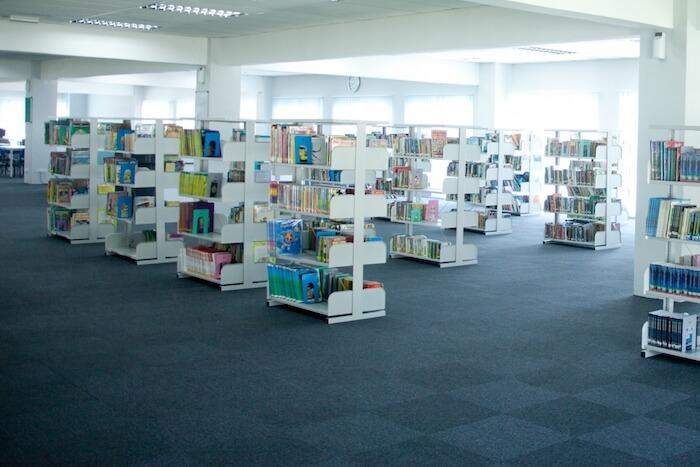 図書館のシックハウス検査