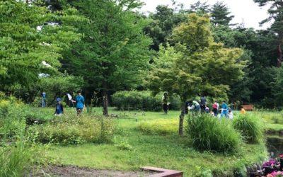 「第4回ちいさな発見inあづみの公園」を行いました