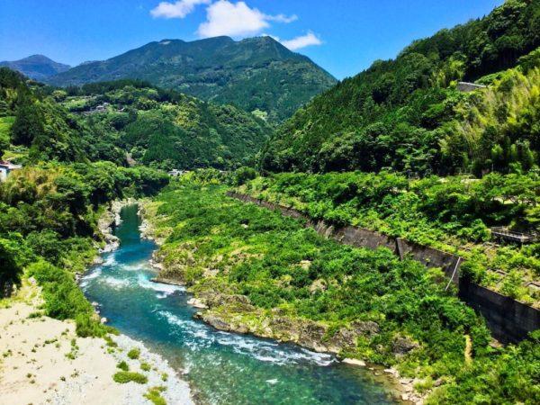 日本の川と硬度